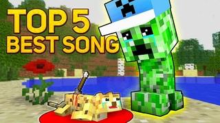 ГРУСТНЫЕ МАЙНКРАФТ ПЕСНИ МУЗЫКА ТОП 5 (Сборник) | Best SAD MINECRAFT Songs Animation Music