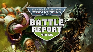 Death Guard vs Dark Angels Warhammer 40k Battle Report Ep 37