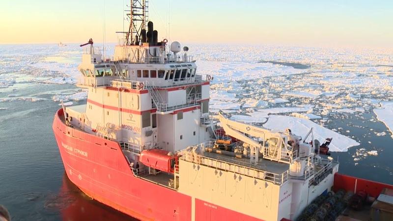 Приразломное Первый проект по добыче нефти на шельфе Российской Арктики 18 апреля 2014