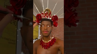 BE YOURSELF FEEL FREE BE HAPPY MAKEUP TUTORIAL LIL NAS X IN ACTION