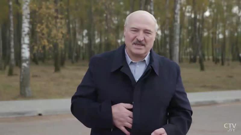 Батька о заводах вирусе и митингах
