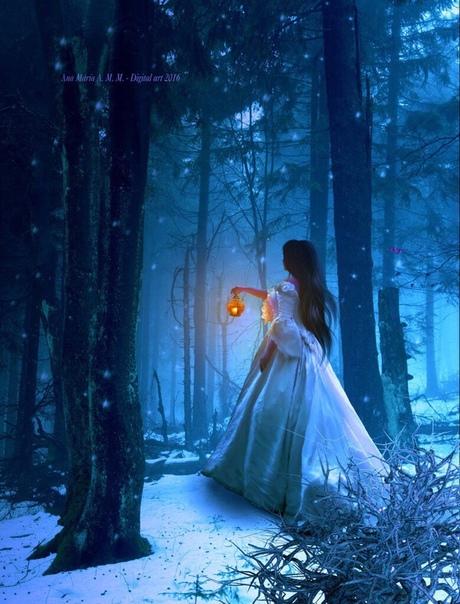 тогда люди лес зимой и сказка фэнтези фото сходятся мнении, что