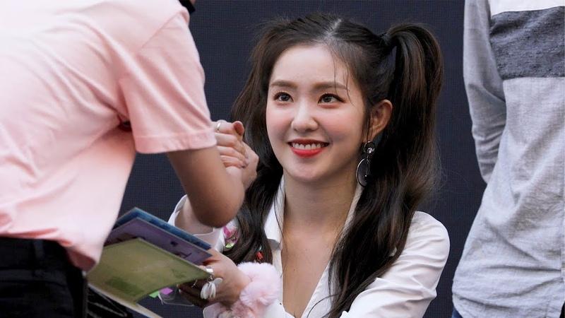 180818 레드벨벳 Red Velvet 아이린의 팬사인 Irene's Fansign 스타필드고양팬사인회 4K 직캠 by 비몽