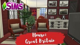 Stylish small house||The Sims 4||Небольшой стильный дом в Симс 4||No CC|| TS4 Stop motion||