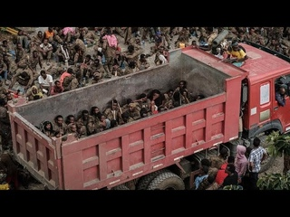 More than 7,000 captive Ethiopian soldiers paraded in Tigray by rebel fighters