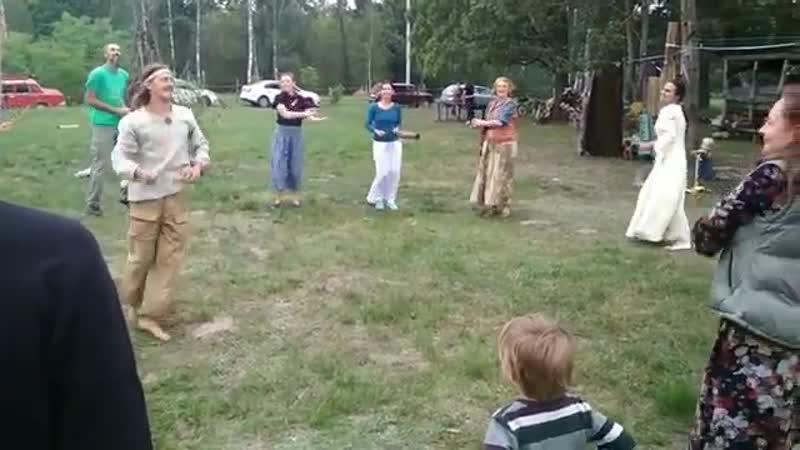 Фрагмент хороводно-игрового праздника