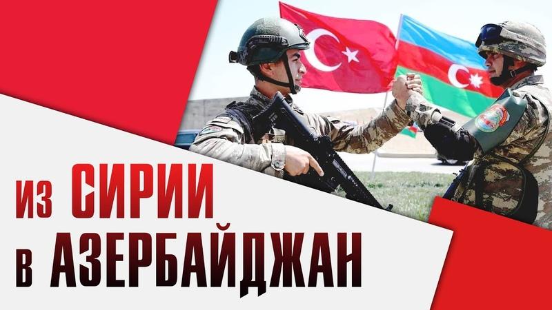 300 боевиков прибыли в Азербайджан из Сирии Кавказ 2020 Объединенные усилия