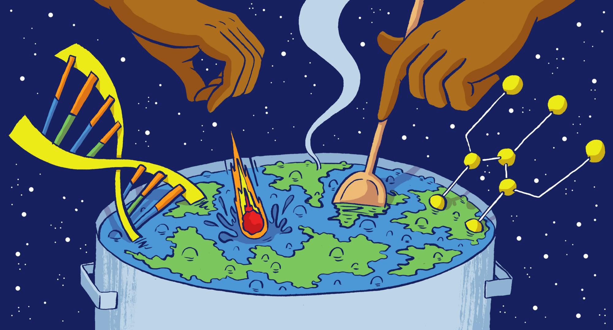 Зарождение жизни на Земле оказалось возможным. Но значит ли это, что на других планетах тоже есть разумная жизнь?