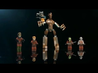 LEGO® MARVEL™ Super Heroes - Guardians of the Galaxy - Minifigure Designer Video