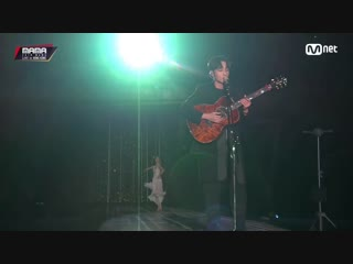 Roy kim only then + the hardest part @ 2018 mama in hong kong 181214
