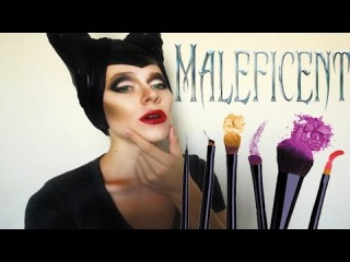 Малефисента / Maleficent make-up tutorial