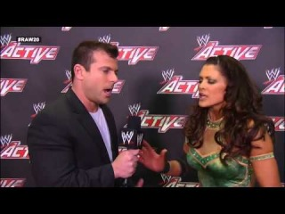 Eve quits the WWE: WWE App Exclusive, January 14, 2013