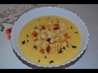 Постные блюда. Постный суп-пюре из цветной капусты