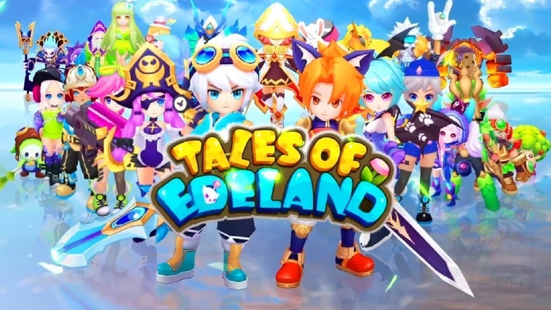 Tales of Edeland android game first look gameplay español