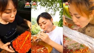 Ăn cay 1000 độ - Ăn ớt thay cơm Món ăn dân dã ít người có cơ hội thưởng thức?? Ẩm thực Trung Quốc