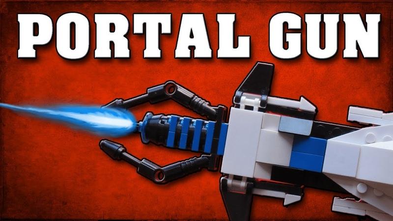 Portal Gun LEGO - How to make Portal Gun LEGO