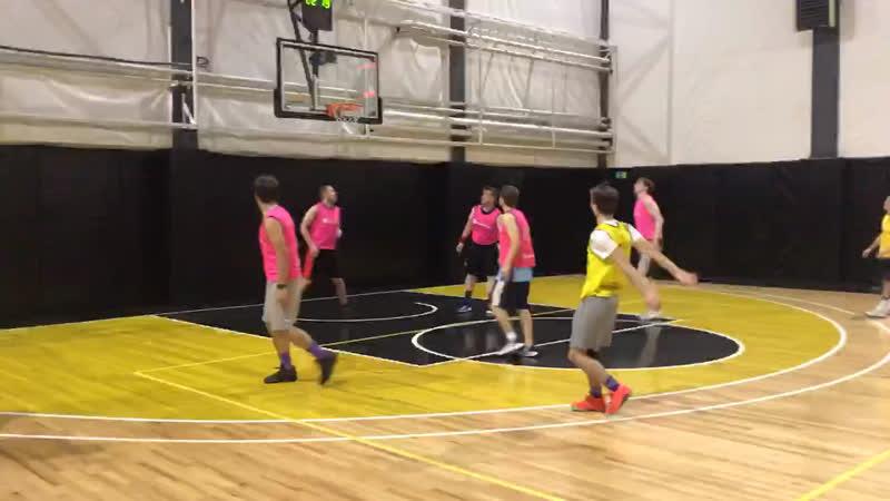 Любительский баскетбол в Москве