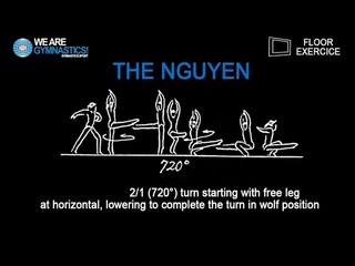 THE NGUYEN - 2018 World Championships WAG new FX element
