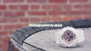 CASIO_25th Anniversary BABY-G + 25 Girls Dancers  choreographed by akane