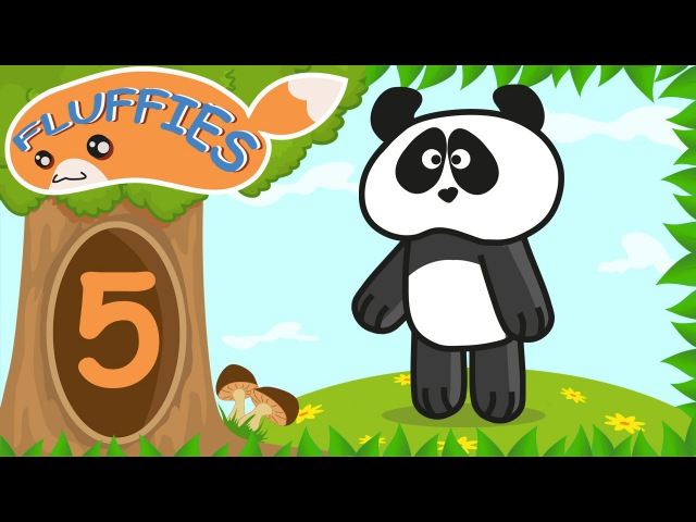 Cartoon for children. Funny Animals - Pig, Cat, Lemur, Crocodile. Swimming Time. Season 1. Episode 5