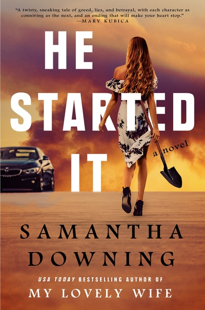 04- He Started It by Samantha Downing (infinityreviews1)