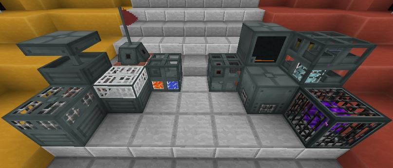 Новые блоки из EnderIO Addon