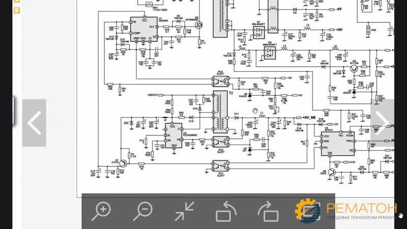 Онлайн курс ремонт электроники Принципиальные схемы блоков питания