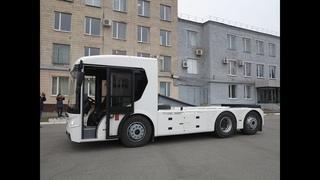 Тест-драйв электрического грузовика Богдан ERCV27