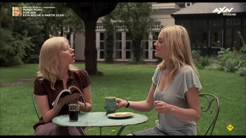 Scoop (2006) Scarlett Johansson Romola Garai sexy escene 05