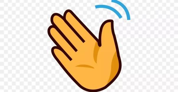 hand waving clipart - 900×520