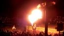 Закончился фестиваль фейерверков огненным шоу Ижевск