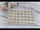 How to Crochet Lacy Puff Stitch for a Scarf Shawl or Baby Blanket Crochet Video Tutorial