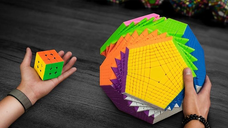 Это самый сложный кубик Рубика в мире Examinx распаковка и обзор