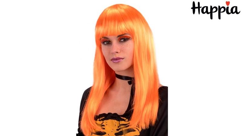 Рыжий длинный парик Обзор