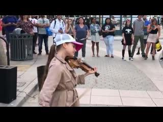 Уличные музыканты / Street musicans / Wake Me Up - Avicii - Karolina Protsenko - Violin Cover