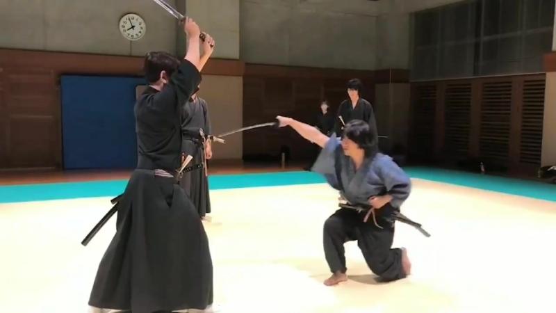 Koryu-Tenshin ryu Hyoho 師家 鍬海政雲