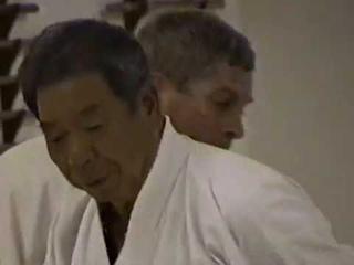 Saito Morihiro Shihan teaches Morotedori and Ushiro Ryotedori Variations at Capital Aikikai 1995