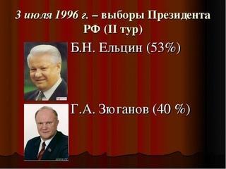 Зюганов, выборы 1996 - анализ (Караулов, Умолатова, Илюхин, Волхонский Лайв и др.)