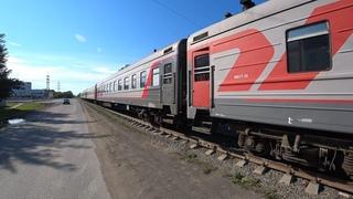 Сдали на металл целый пассажирский поезд. Два немецких купе, два тверских купе и один плацкарт. Ржд.