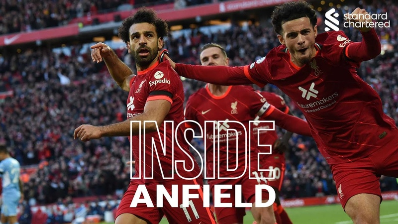 Inside Anfield Liverpool 2 2 Man City Capture the atmosphere of the Reds' thrilling draw