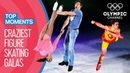 Top 10 Craziest Figure Skating Gala Performances Top Moments