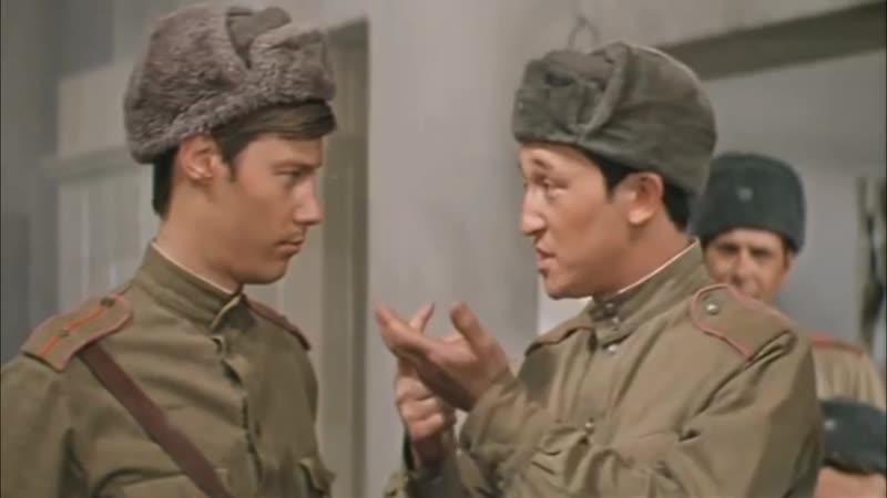 Завтрак пшено обед пшено ужин пшено Узбек вам птичка что ли Аты баты шли солдаты 1976 г