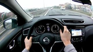 2019 Nissan Qashqai Otoban Sürüşü -POV- Nissan Qashqai Autobahn Ride