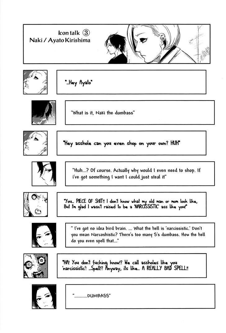 Tokyo Ghoul, Vol. 10 Chapter 94 Inner Thoughts, image #18