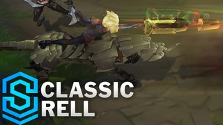Classic Rell, the Iron Maiden - Ability Preview - League of Legends