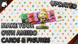 HOW TO MAKE YOUR OWN AMIIBOS/CARDS (ANIMAL CROSSING: NEW HORIZONS) UPDATED