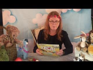 Sarah Ferguson reading Bo Loves Books by Kaye Baillie