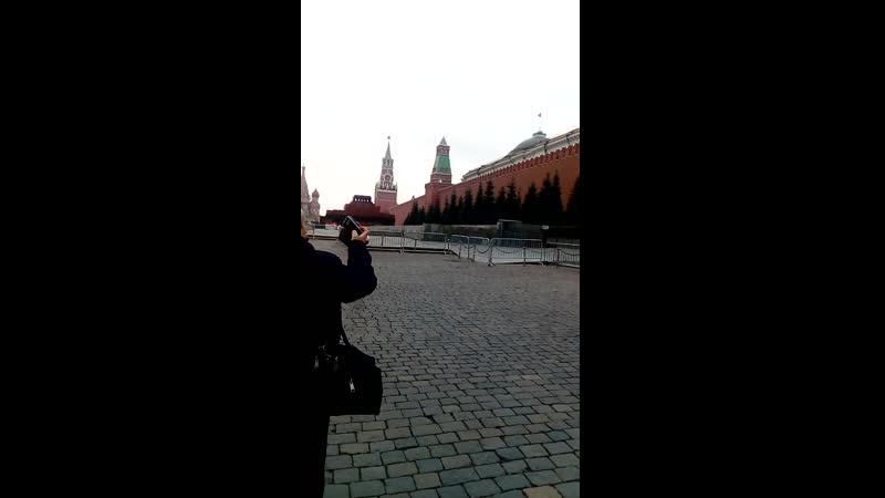 Москва. Красная площадь. 2019.11.
