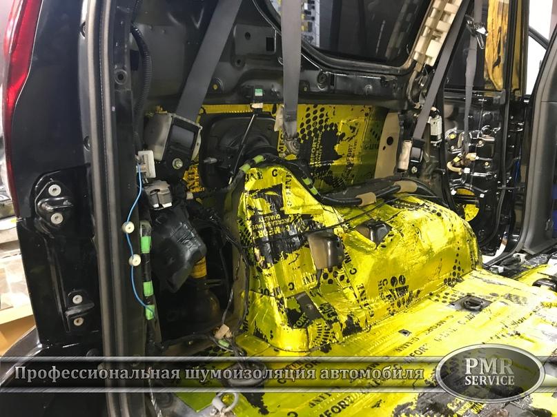 Комплексная шумоизоляция Toyota Land Cruiser 120, изображение №15