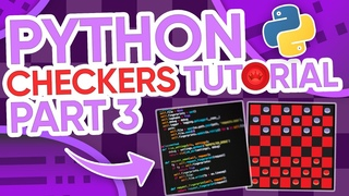 Python/Pygame Checkers Tutorial (Part 3) - Jumping and King Movement